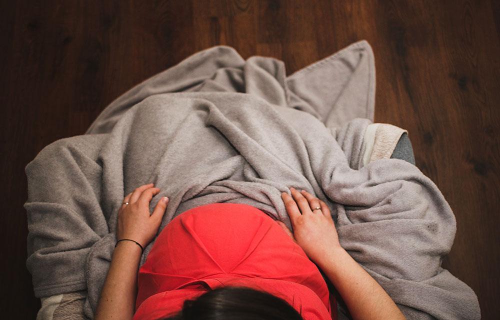 Smittad med herpes under graviditeten