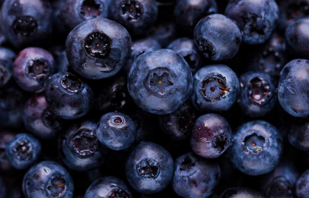 Blåbär kan motverka herpesutbrott.